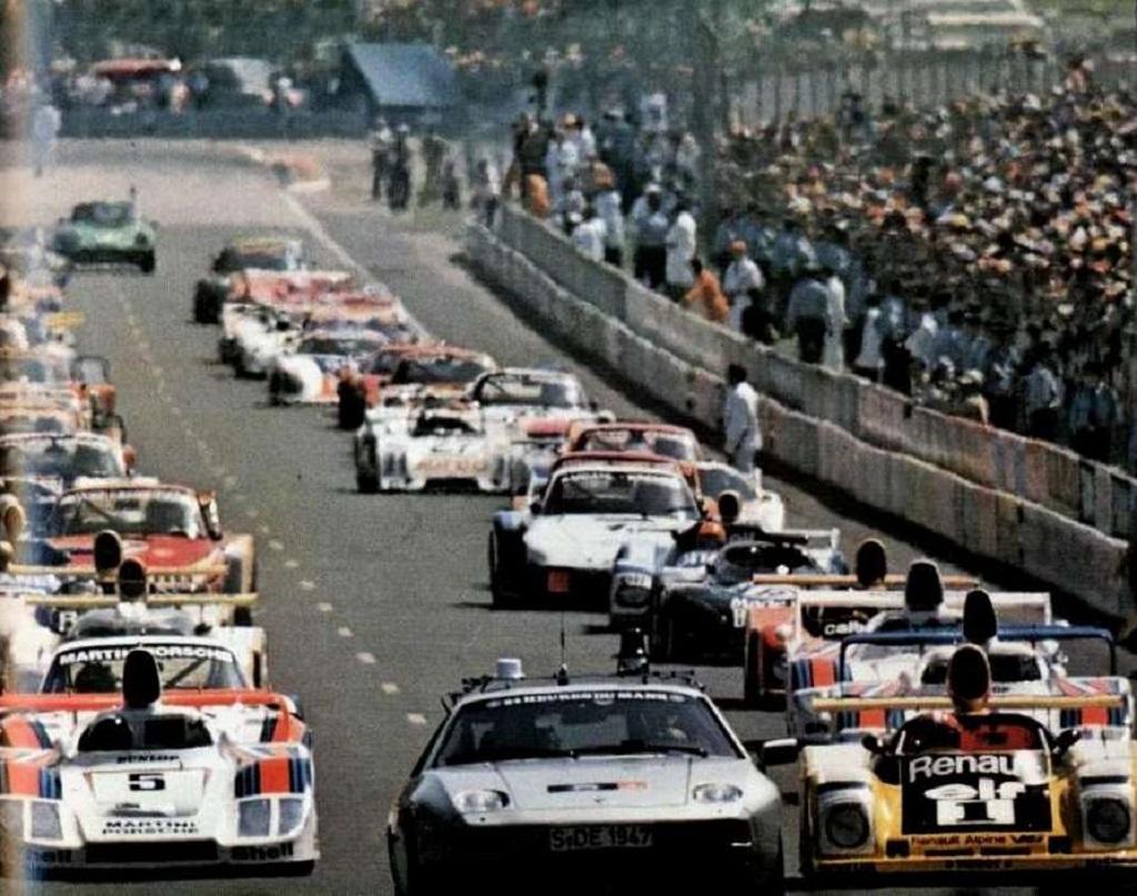 24-Heures-du-Mans-1978-Le-départ