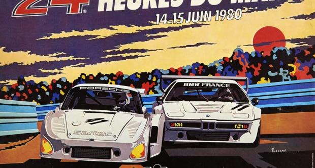 Affiche-24-Heures-du-Mans-1980