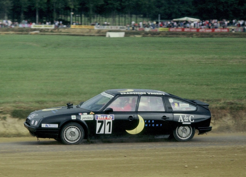 Alain-Tissier - Citroën-CX-Turbo- 1987 - Rallycross-Lohéac - photo-Thierry-Le-Bras