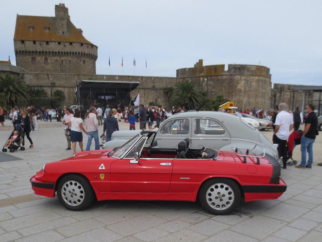 Alfa-Romeo-2000-Spider - 2018 -Rallye-des-Corsaires - Photo-Thierry-Le-Bras