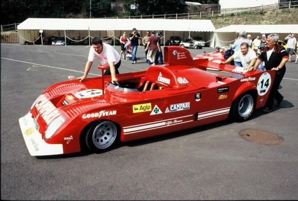 Alfa-Romeo- 33TT12-modèle-1974 - 2004 - Mans-Classic - Photo-Thierry-Le-Bras