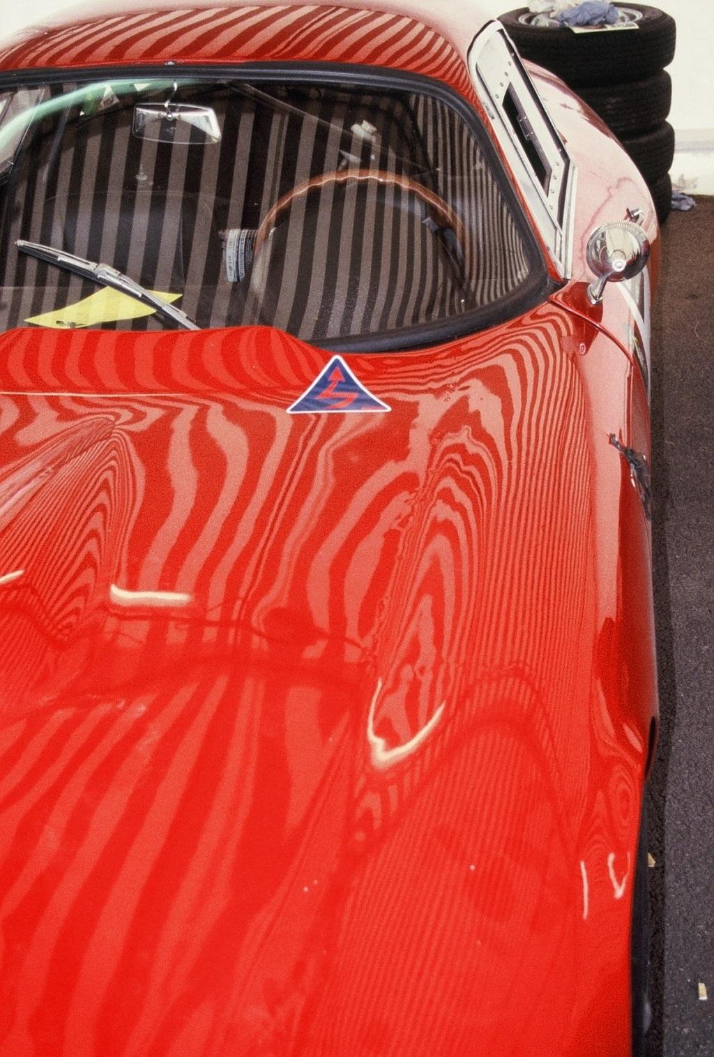 Alfa-Romeo-Giulia-TZ - 2004-1 - Mans-Classic - Photo-Thierry-Le-Bras