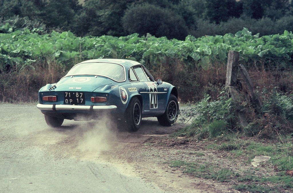 Amy - Alpine-Berlinette - 1975 - Rallye-Armor - Photo-Thierry-Le-Bras