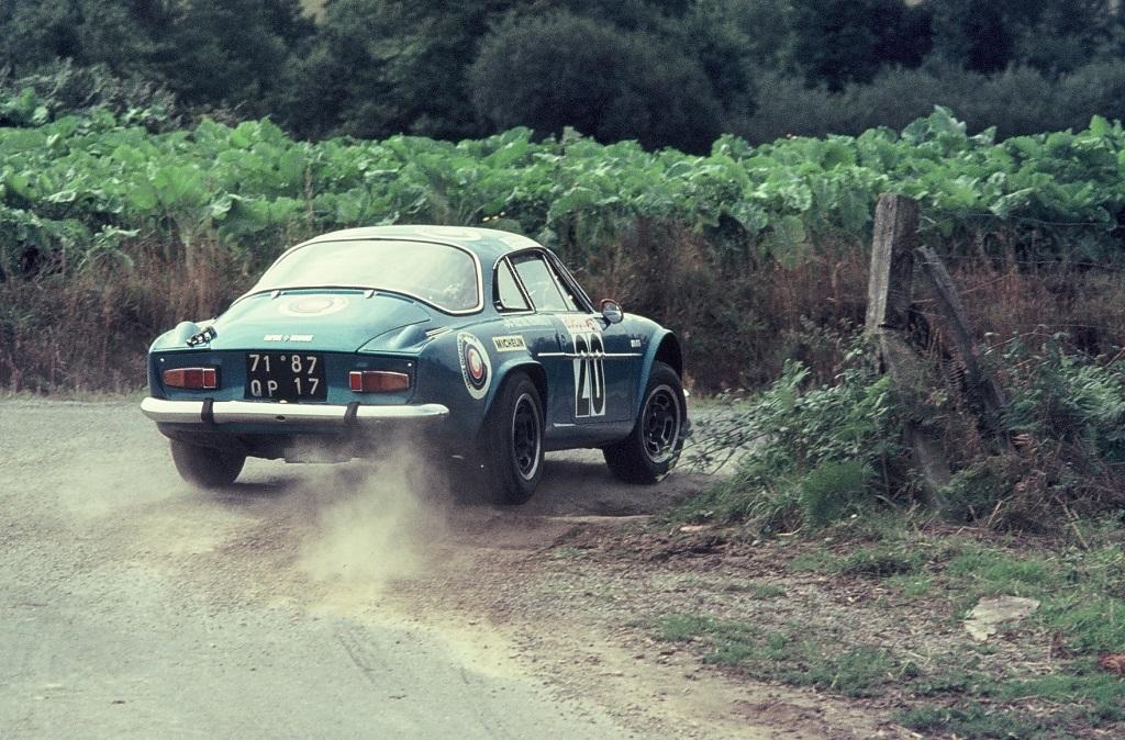 Amy - Alpine-Berlinette - 1975 - Rallye-Armor - Photo-Thierry-Le-Bras