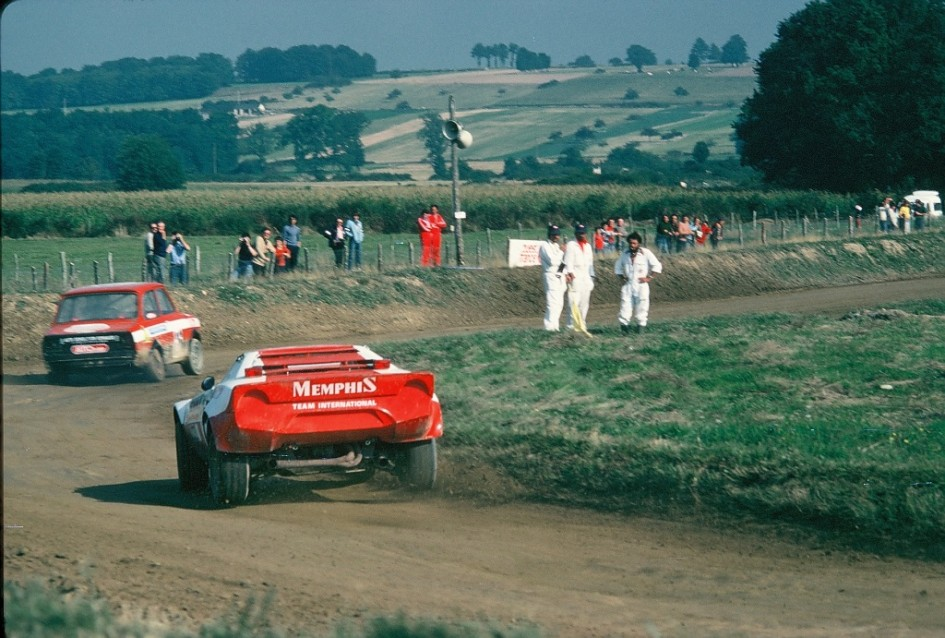 Andy-Bentza - Lancia - Stratos - 1978 - Lohéac - photo-Thierry-Le-Bras
