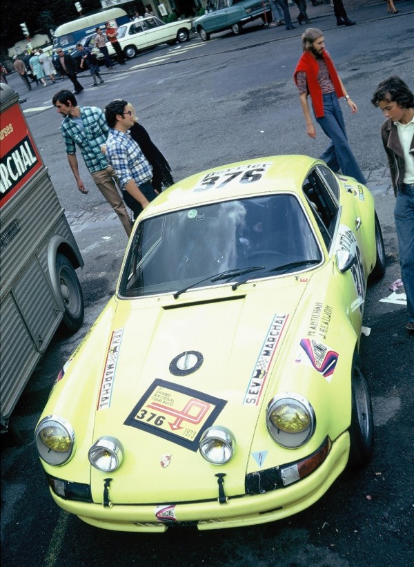 Antichan - Porsche-911   - 1973 - Dinard - Grand-National-Tour-Auto - Photo-Thierry-Le-Bras