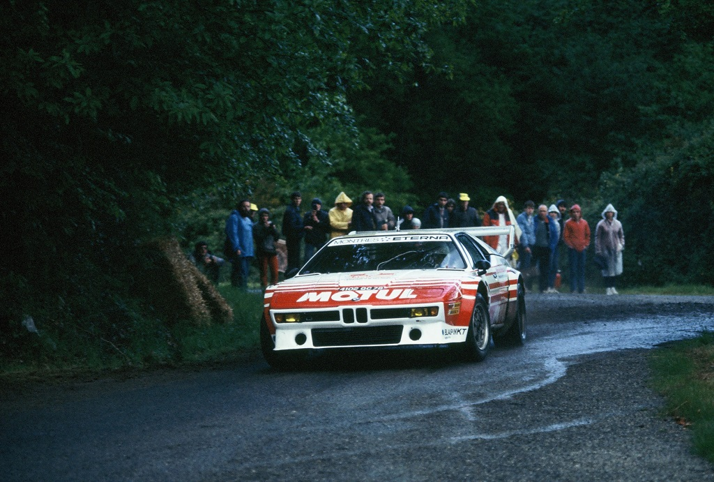 Béguin-Lenne - BMW-M1 - 1984 - Rallye-de-la-Baule Photo-Thierry-Le-Bras