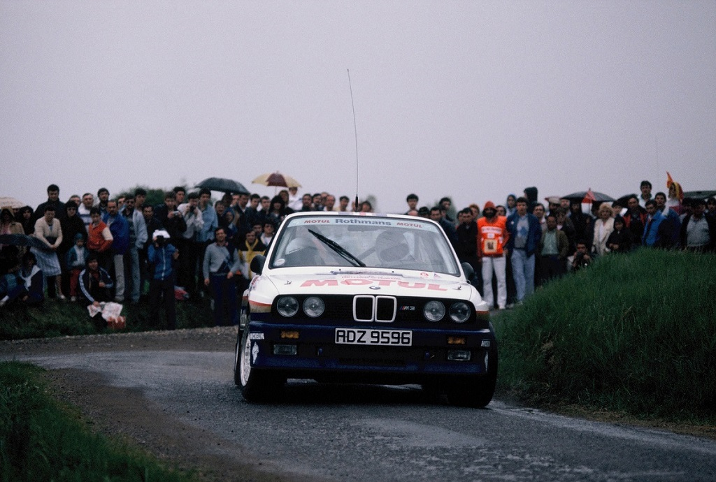 Béguin-Lenne - BMW-M3 - 1987 - Rallye-de-Touraine- Photo-Thierry-Le-Bras
