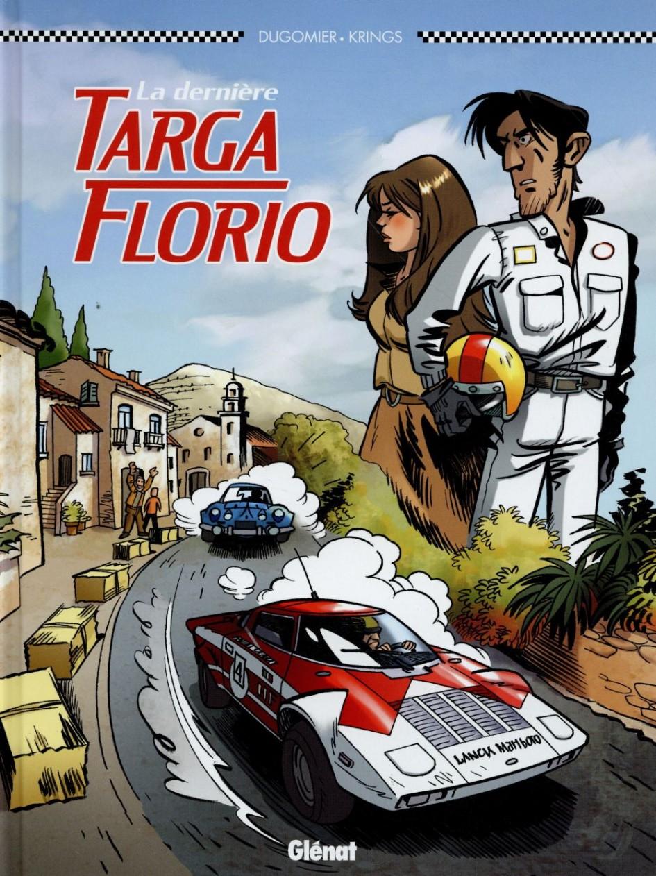 La dernière Targa Florio - couverture BD