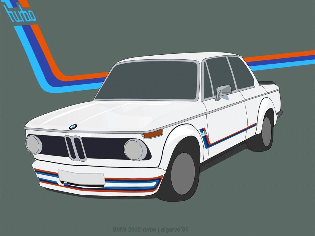 BMW-2002-turbo - Source-Carte-Postale-Algarve
