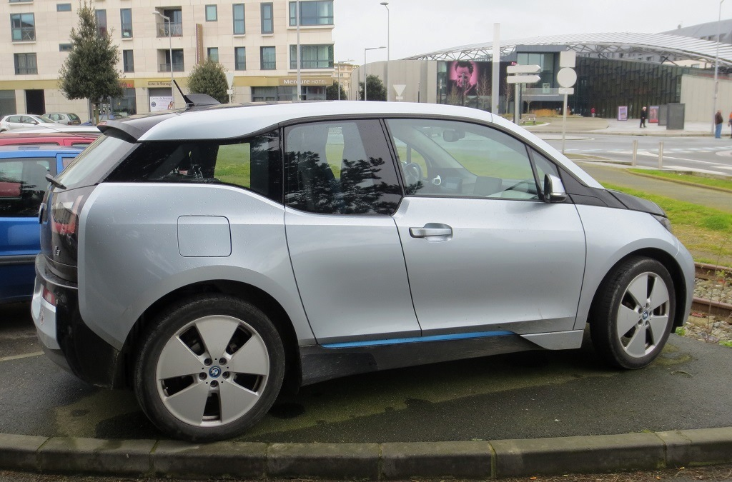 BMW -I3 - 2015 - Saint-Malo - Photo- Thierry-Le-Bras