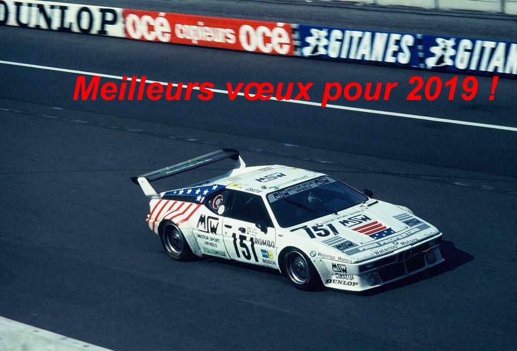 BMW-M1 - 1985- 24-Heures-du-Mans-Photo-Thierry-Le-Bras