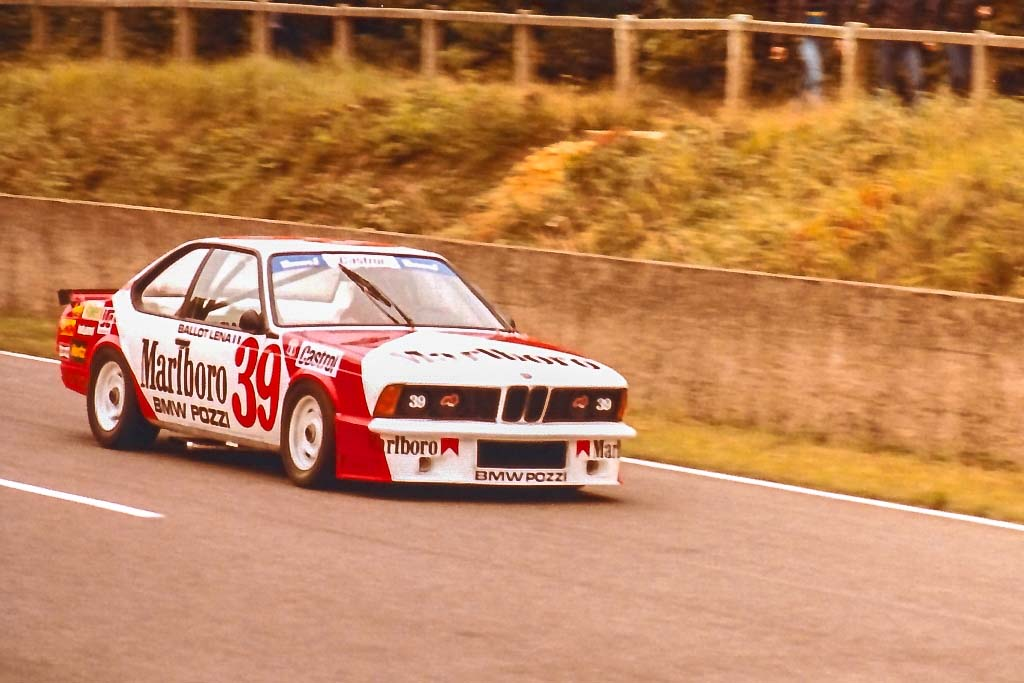 Ballot-Léna - BMW-635 - 1983 - Monthlery - Photo-© RacingCarMedia – Guy Pawlak