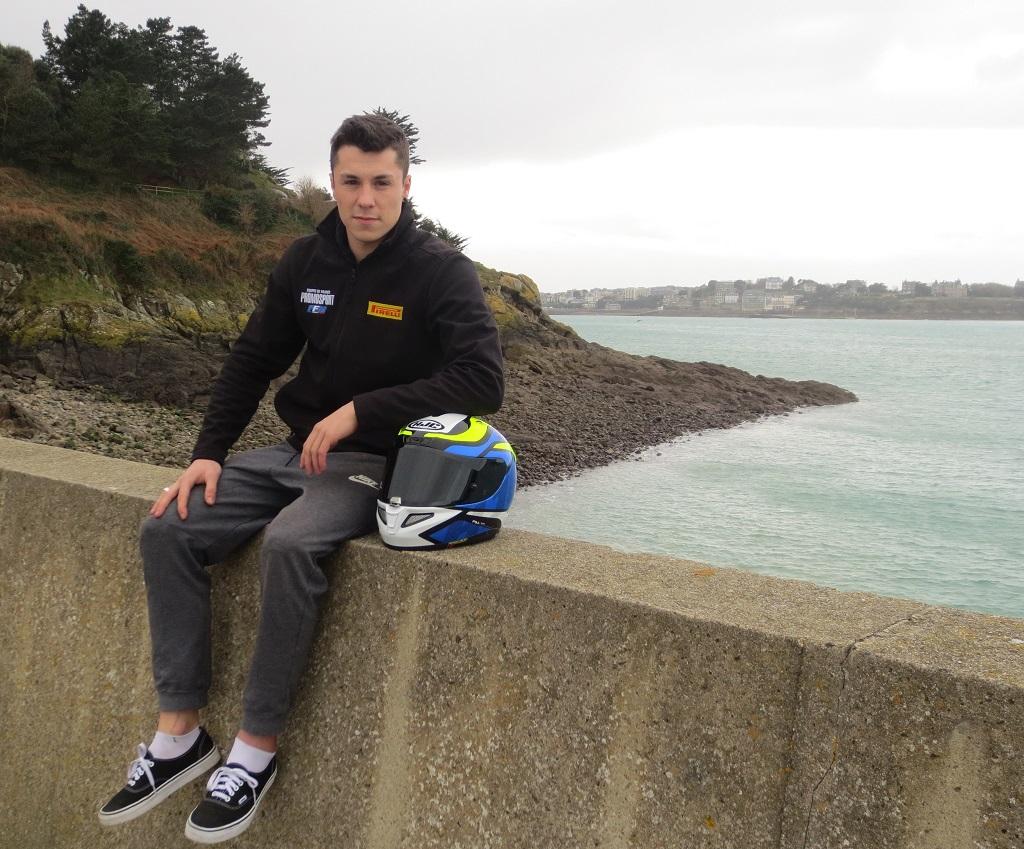 Baptiste-Felgerolles- pilote-moto-breton - 2019 - photo-Thierry-Le-Bras