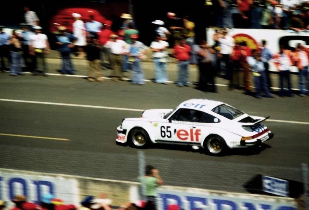Beaumont-Pironi-Wollek - Porsche-934-Kremer - 1976 -Le-Mans - Photo-Thierry-Le-Bras