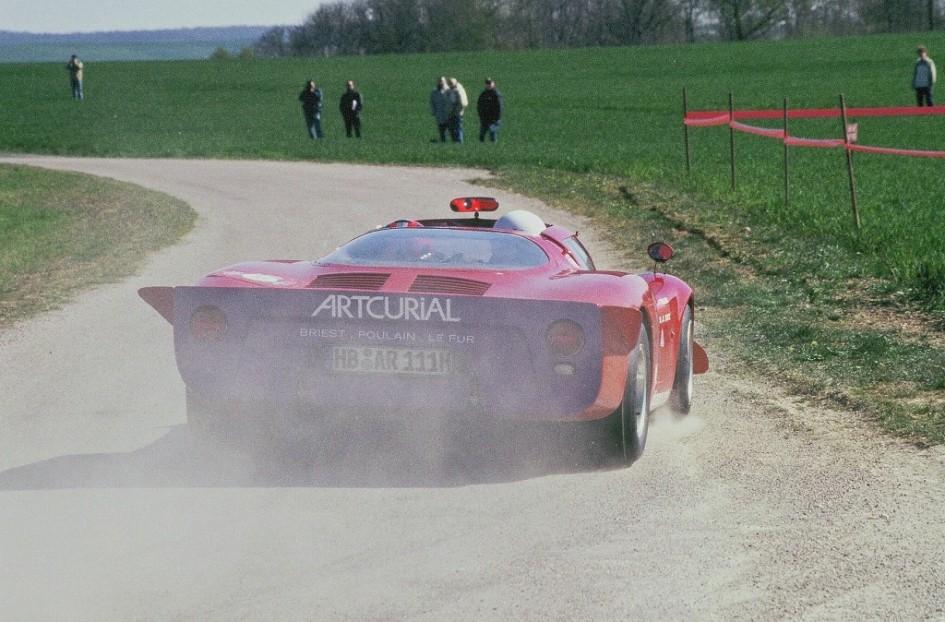 Bentz - Poulain - Alfa-Romeo-T33-2 - 2003 - Tour-Auto- Photo-Thierry-Le-Bras
