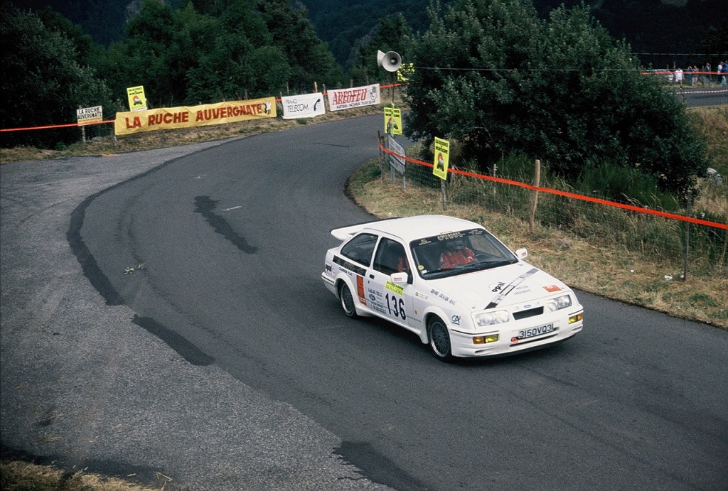 Bermand-Ford-Sierra-RS-Cosworth - groupe-N- 1989 - CC-Mont-Dore- Photo-Thierry-Le-Bras