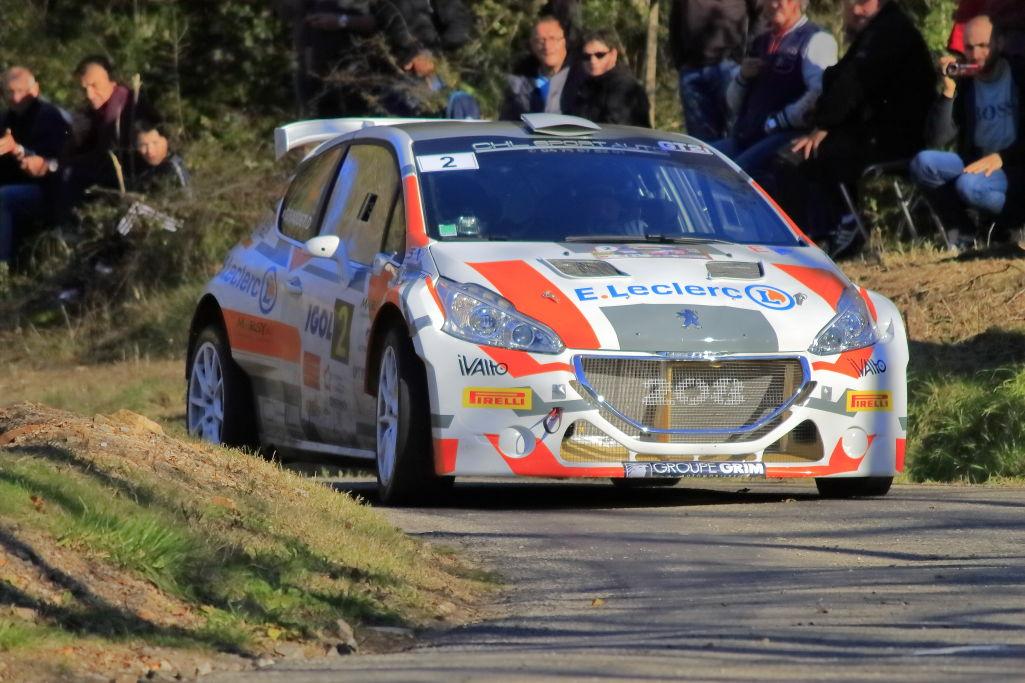 Bonato-Giraudet - Peugeot-208-T16- 2015- Rallye-des-Cévennes - Photo-© RacingCarMedia – Guy Pawlak