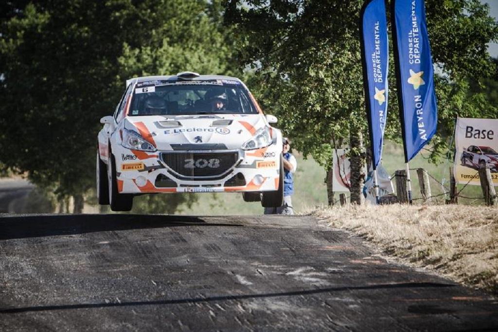 Bonato -Renucci - Peugeot-208-T16 - 2015 - Rallye Aveyron - Rouergue