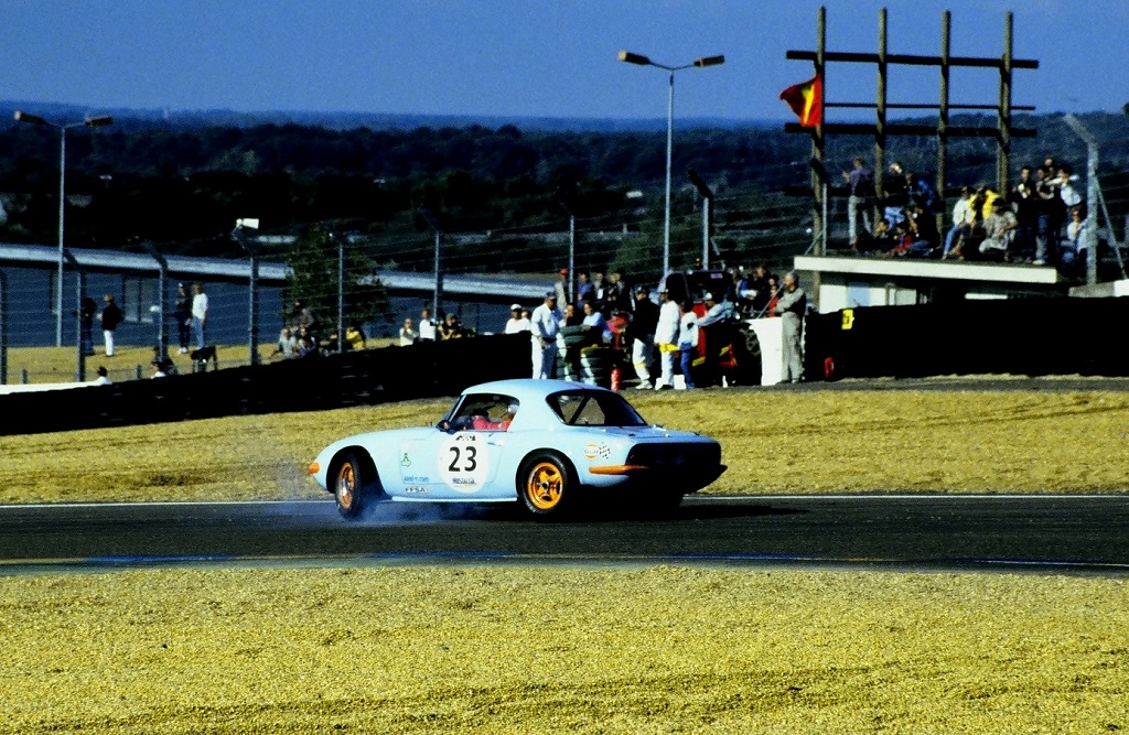 Bourdin-Jaussaud - Lotus-Elan- 2002 - Mans-Classic - Photo-Thierry-Le-Bras