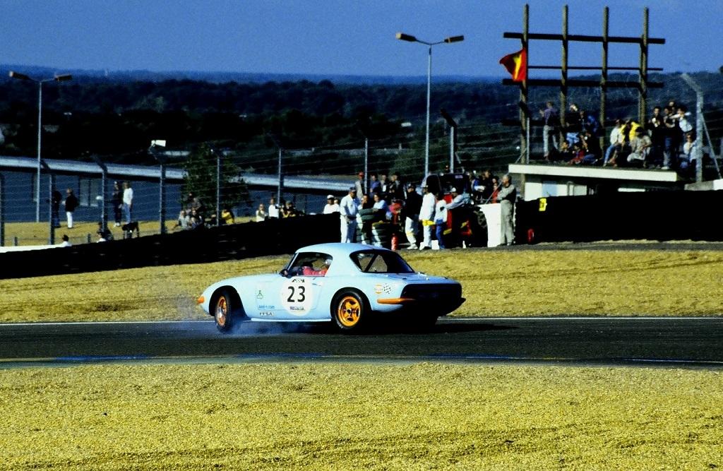 Bourdin-Jaussaud - Lotus-Elan- 2002 - Mans-Classic - Photo-Thierry-Le-Bras