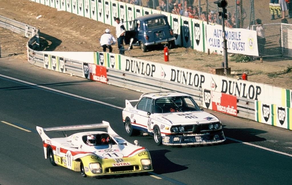 Brock-Muir-Aubriet- BMW-35-CSL-N°46- 1976- Le-Mans- Photos-Thierry-Le-Bras