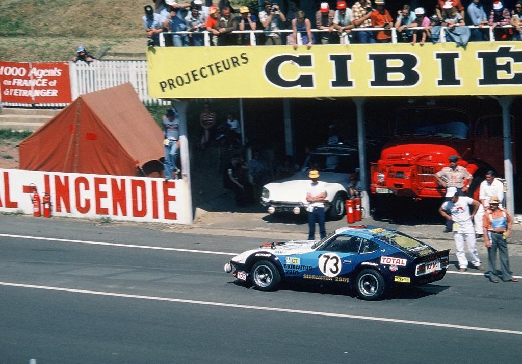 Buchet-Haller-Favresse - Datsun-240-Z - 1976 - Le-Mans - Photo-Thierry-Le-Bras