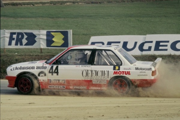 Carolyn-Boniface -BMW-325-i-4x4- 1987- Rallycross-Lohéac- Photo-Thierry-Le-Bras