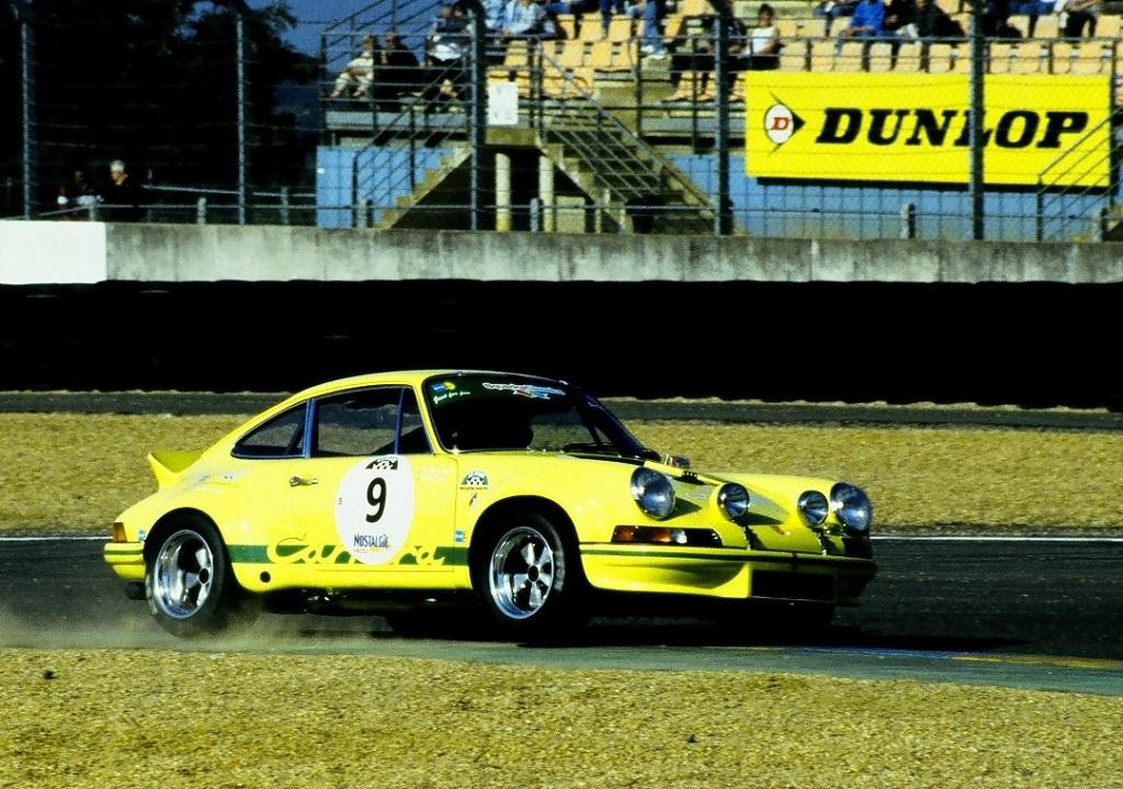 Cartier-Traber - Porsche-Carrera-2.8-RSR - 2002- Mans-Classic - Photo-Thierry-Le-Bras