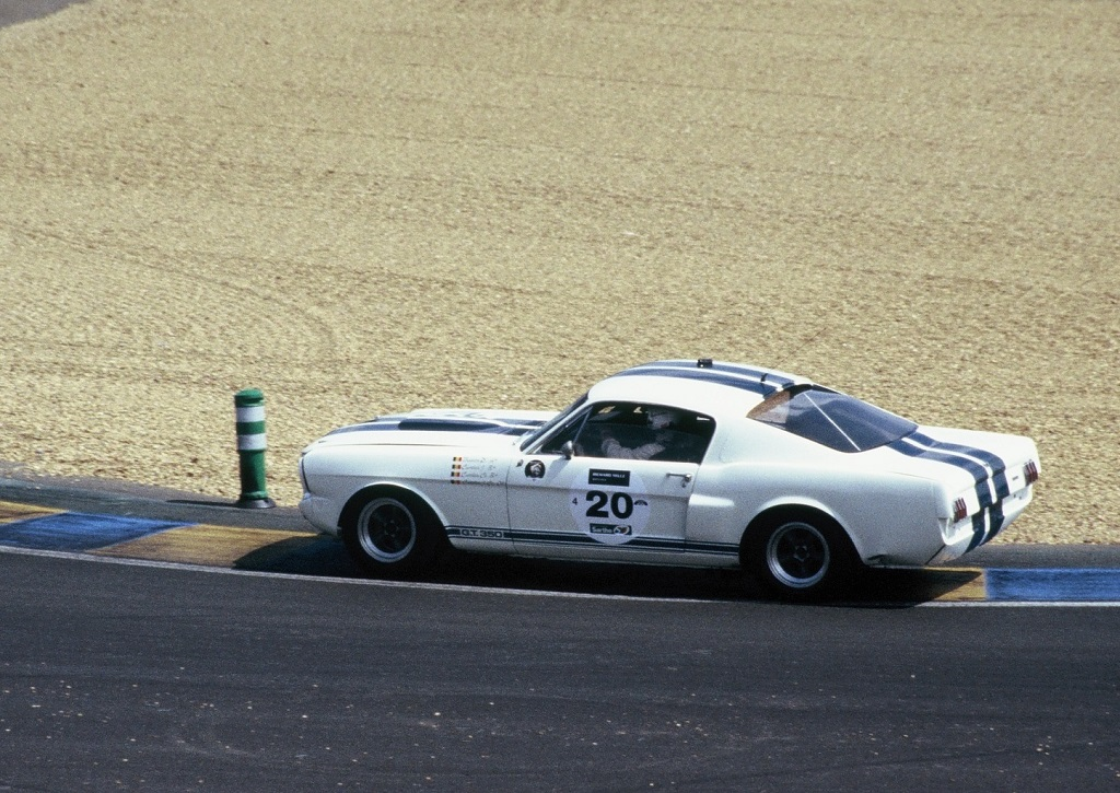 Castelein-Castelein - Ford-Shelby-350-GT -2 - 2004- Mans-Classic - Photo-Thierry-Le-Bras