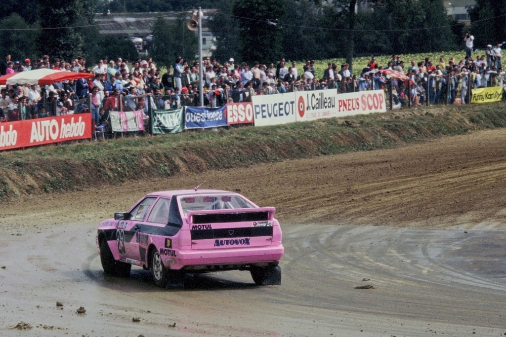 Caty -Caly- Audi-Quattro-2- 1987 - Rallycross-Lohéac - photo-Thierry-Le-Bras