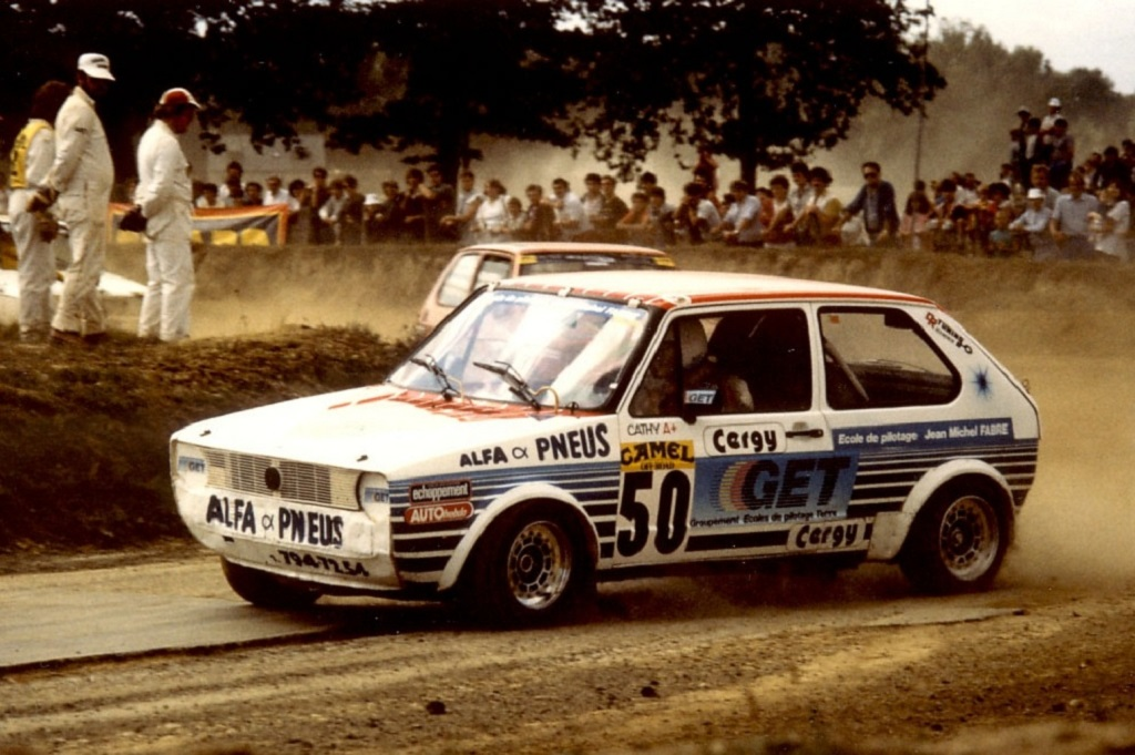 Caty-Caly - VW-Golf-GTI - 1985 - Rallycross-Lohéac - Photo - Thierry-Le-Bras