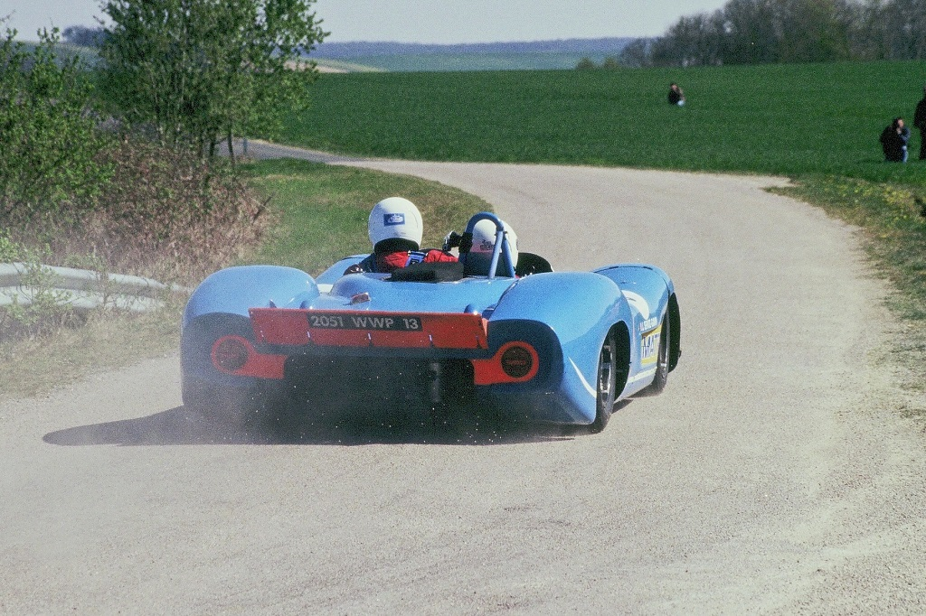 Cazalières-Guikas - Matra-MS-650 - 5 - 2003- Tour-Auto - Photo-Thierry-Le-Bras