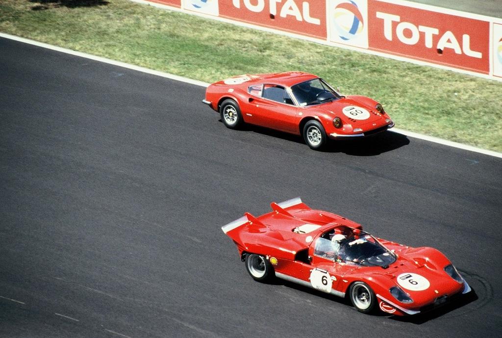 Cazalieres-Scwab - Ferrari -512 -S- 2004 - Mans-Classic-Photo-Thierry-Le-Bras