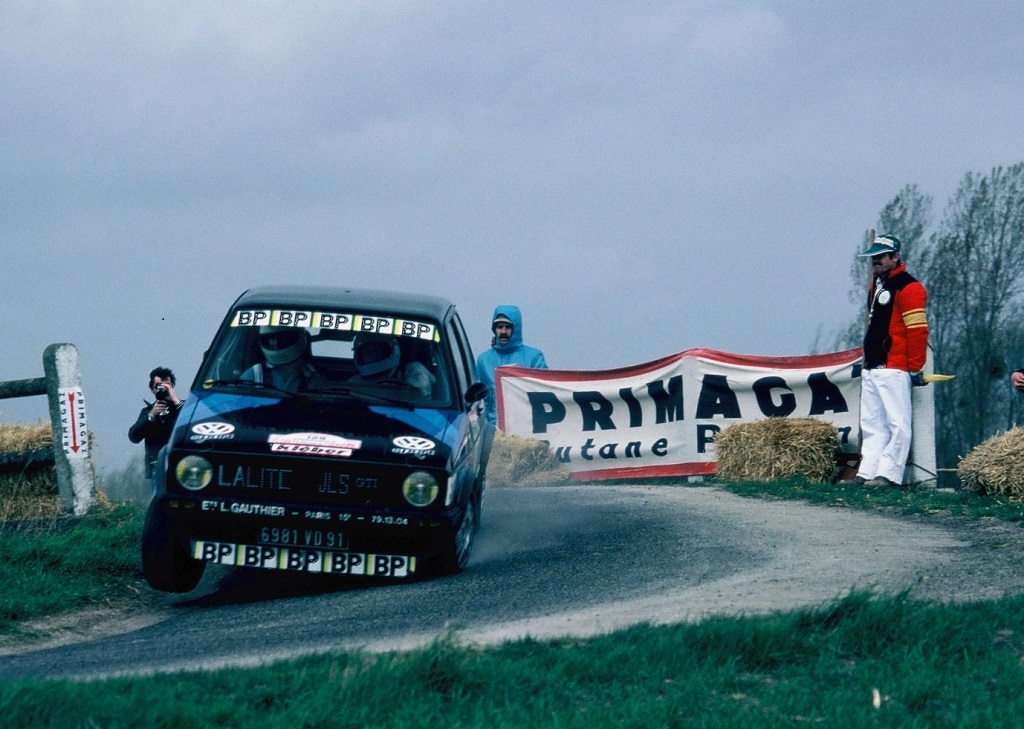 Chasseuil-Baron - VW-Golf-GTI - 1981 - Rallye-Touraine - Photo -Thierry-Le-Bras