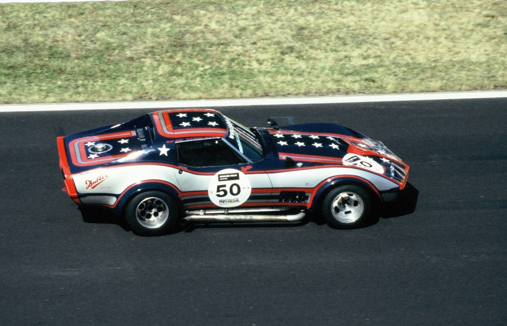 Chevrolet-Corvette-modèle-1968 - 2004 - Mans-Classic - Photo- Thierry-Le-Bras