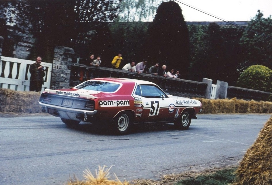 Christian-Avril - Chrysler-Barracuda - 1973 - CC-Saint-Germain-sur-Ille - Photo-Thierry-Le-Bras