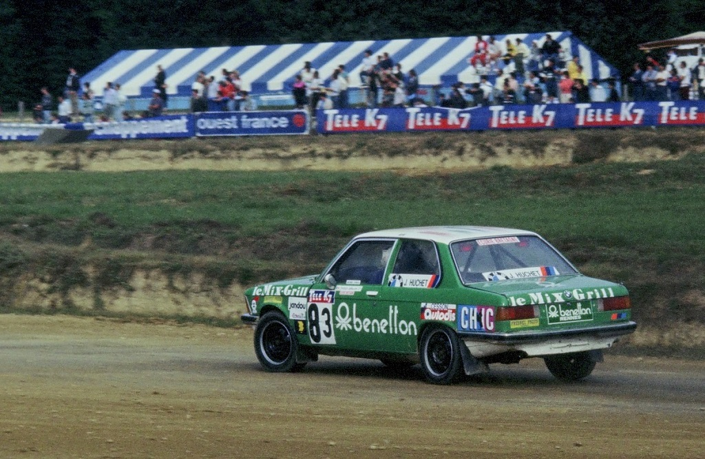 Christian-Lefeuvre -BMW-323- 1987- Rallycross-Lohéac- Photo-Thierry-Le-Bras