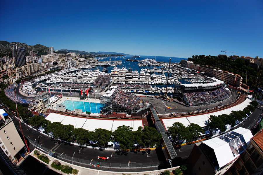 Circuit-Monaco - vue panoramique