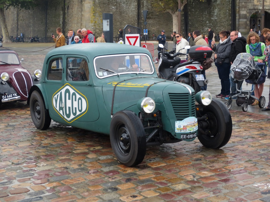 Citroën-Traction-Yacco - 2017 - Saint-Malo- Photo-Thierry-Le-Bras