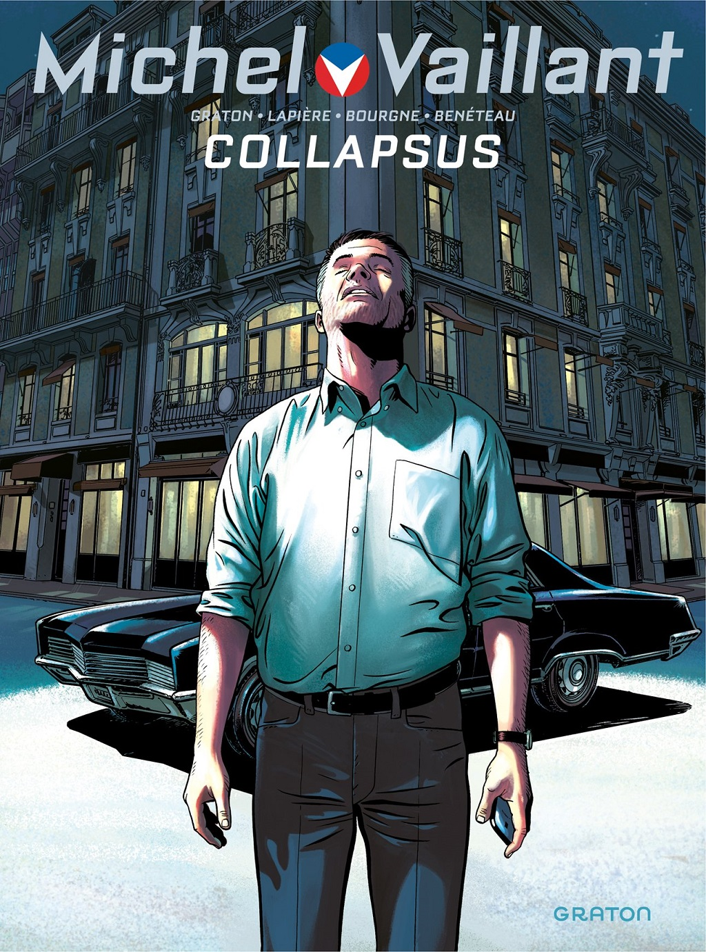 Collapsus - Couverture