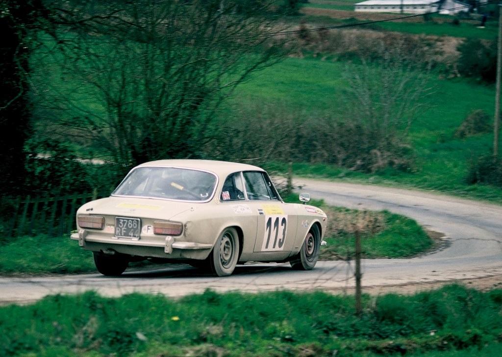 Coquet - Alfa-Romeo -2000- GTV- Coquet- 1977 -Ronde-d-Armor - Photo-Thierry-Le-Bras