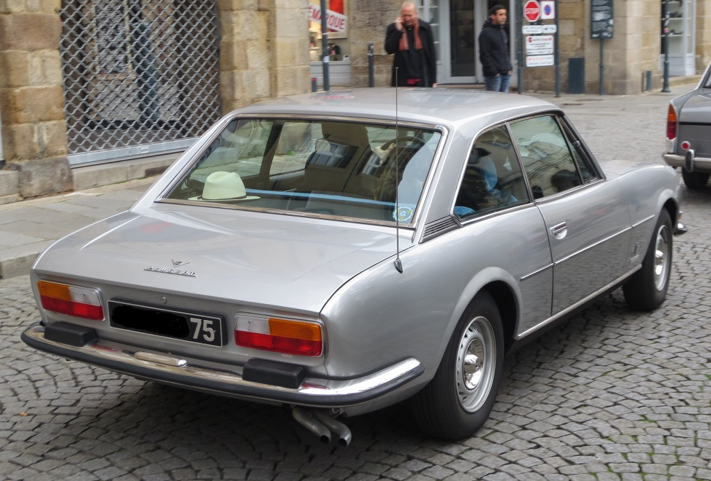 Coupé-Peugeot-504-V6 - Photo-Thierry-Le-Bras