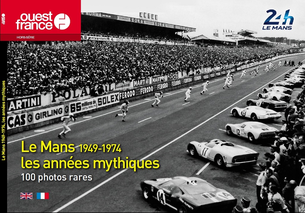 Couverture-Le-Mans-1949-1974 - 100-photos - Ouets-France