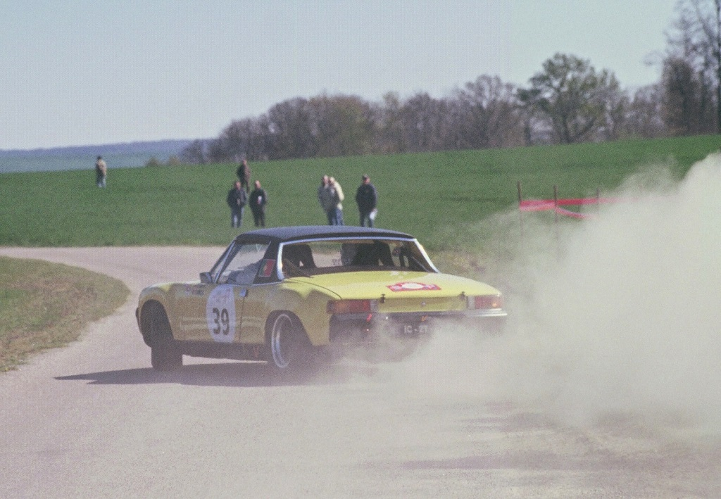 Cruz-Simoes - Porsche-914-6 -2- 2003 -Tour-de-France-Auto - Photo-Thierry-Le-Bras