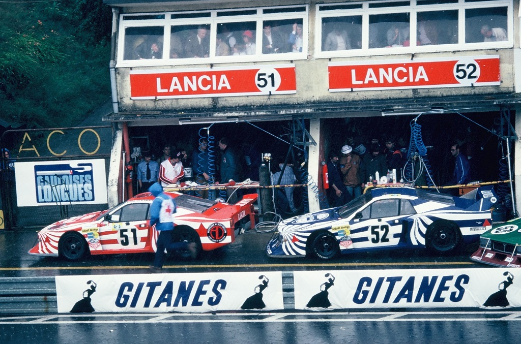 Darniche - Fabi - Heyer - Lancia-Beta-Monte-Carlo - (1) - 1980 - Le-Mans - Photo- Thierry-Le-Bras