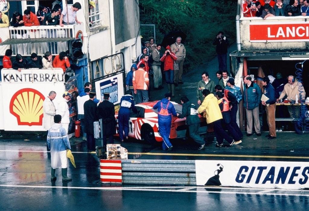 Darniche - Fabi - Heyer - Lancia-Beta-Monte-Carlo - (2) - 1980 - Le-Mans - Photo- Thierry-Le-Bras