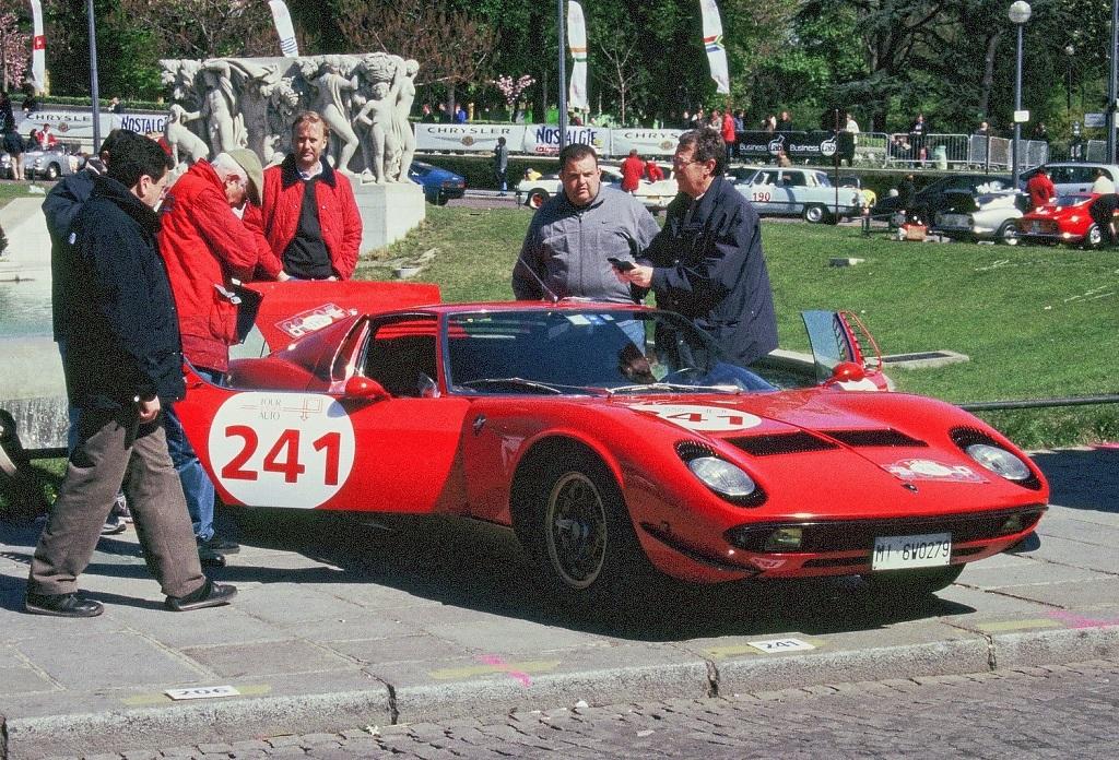 De-Bernardi-Flenghi - Lamborghini-Miura-SV-1- 2003 - Tour-Auto- Photo-Thierry-Le-Bras