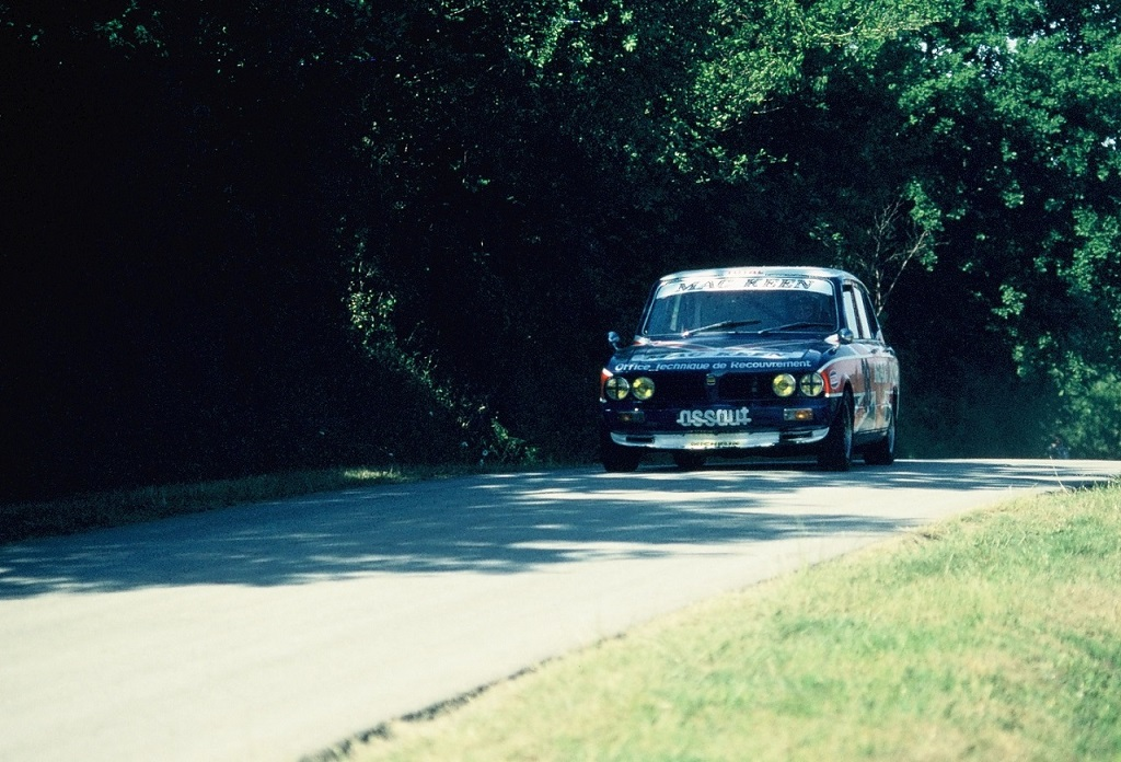 Didier-Calmels - Triumph-Dolomite - 1976 - CC-Bais-Montaigu - photo-Thierry-Le-Bras