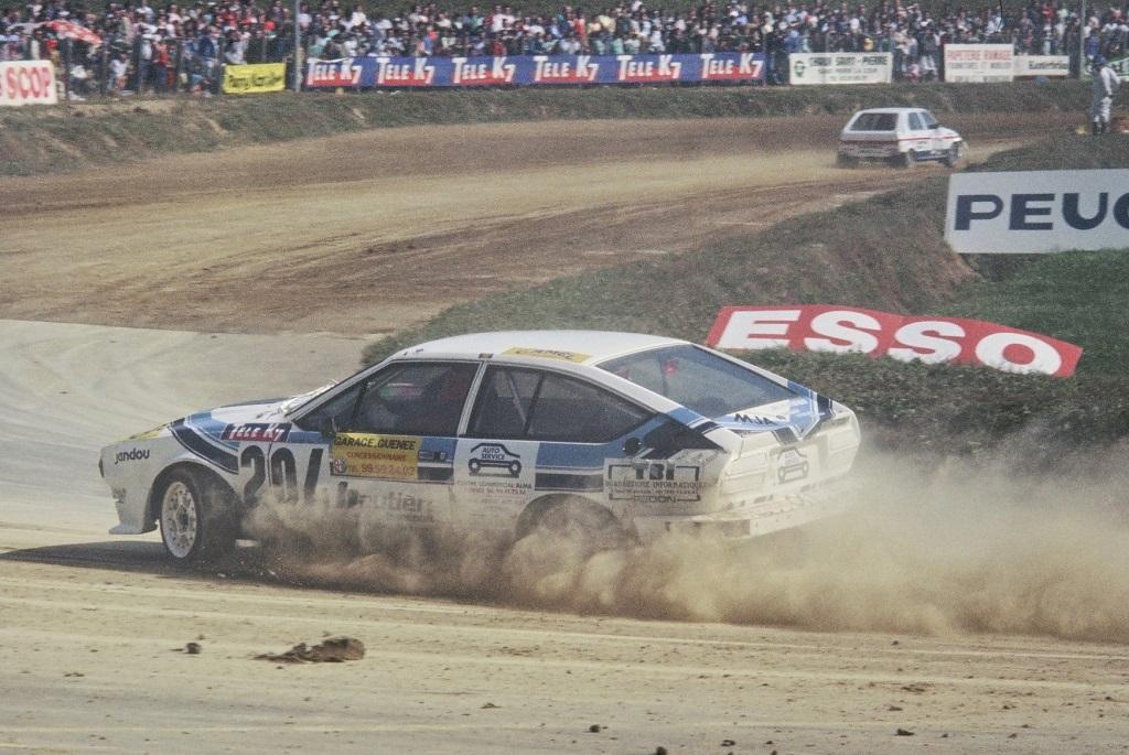 Didier-Caradec - Alfa-Romeo-GTV6 -1- 1987- Rallycross-Lohéac- Photo-Thierry-Le-Bras
